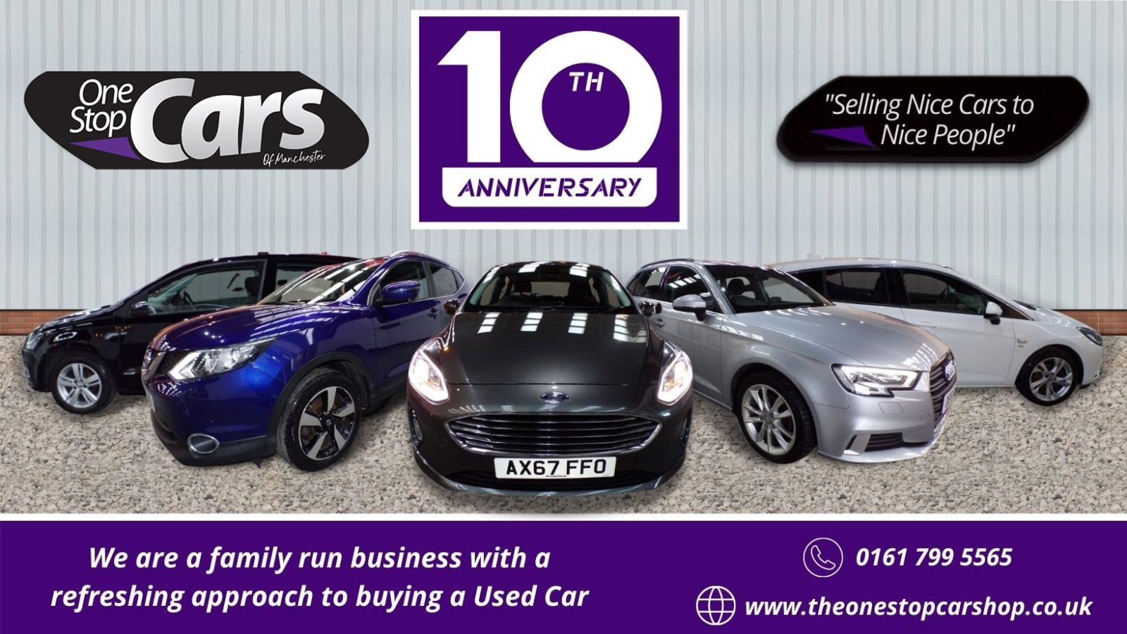 10th Anniversary - One Stop Car Shop